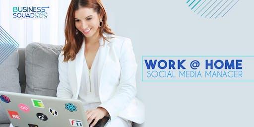 WORK@HOME be a Social Media Manager/Facebook Specialist 8ta. Edición