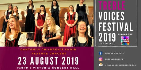 Treble Voices Festival 2019 - Cantemus Children's Choir Feature Concert tickets