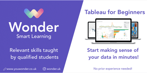 Learn Tableau at LBS for Big Data Visualization (Beginner)