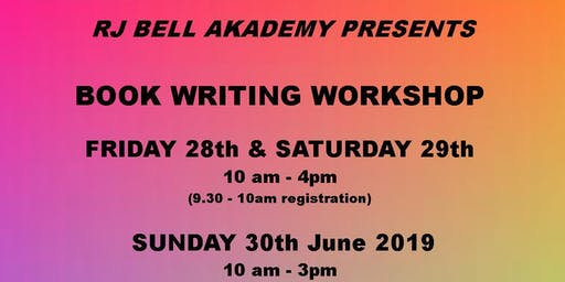 Book Writing Workshop