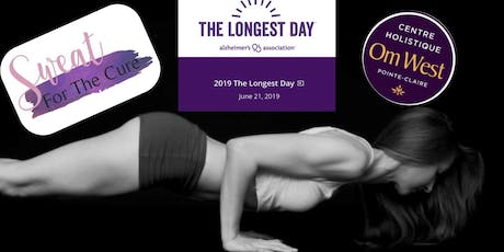 Sweat for the Cure - YOGA for Alzheimer's Association  tickets