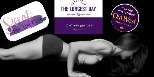Sweat for the Cure - YOGA for Alzheimer's Association