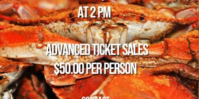 THE BEEHIVE CLUB INC. PRESENTS AN ALL YOU EAT SOULFUL CRABFEAST