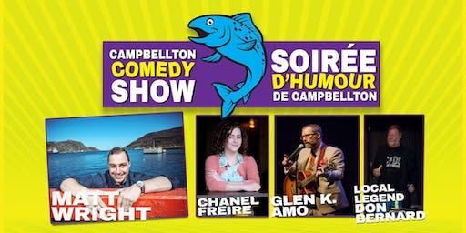 Campbellton Comedy Show/Soirée d'humour de Cambellton