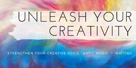 UNLEASH YOUR CREATIVITY mini retreat tickets