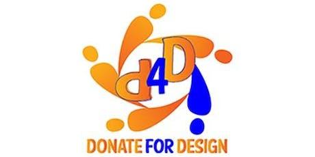 Donate for Design (D4D)Fundraiser tickets