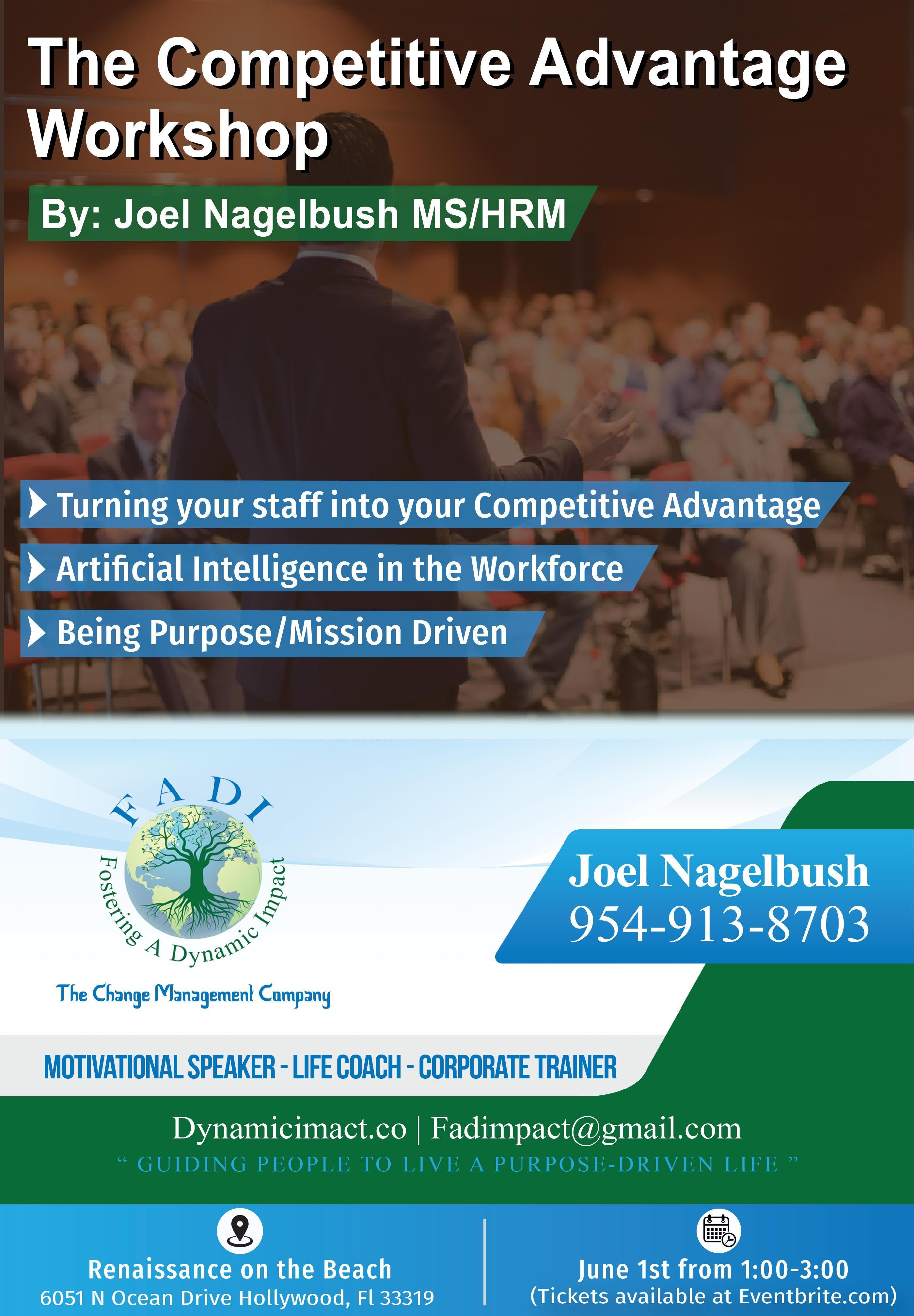 The Competitive Advantage Workshop