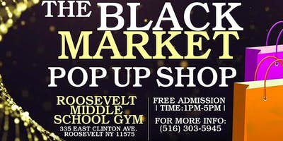 The Black Market Pop-Up Shop