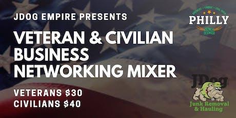 Veteran & Civilian Networking Mixer tickets
