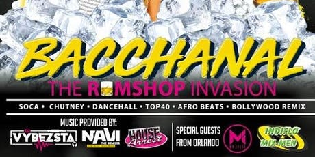 Bacchanal : The RumShop Invasion tickets