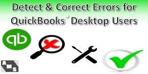 Detect & Correct Errors for QuickBooks Desktop Users