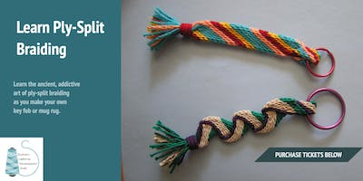 DIY Workshop at WeFF: Ply-Split Braiding with Claudia Buchinsky