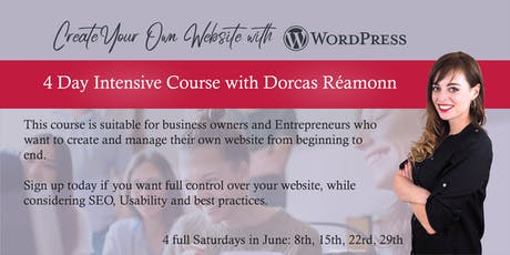 Create Your Own Website with WordPress: 4 Day Intensive Course tickets