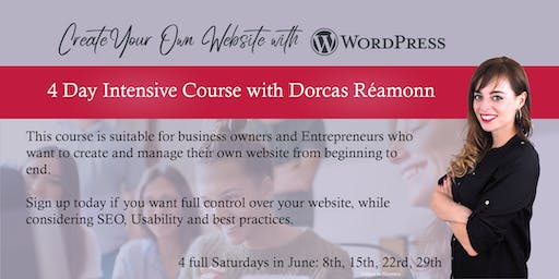 Create Your Own Website with WordPress: 4 Day Intensive Course