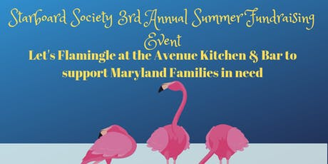 """Let's Flamingle"" with Starboard Society! 3rd Annual Summer Event  tickets"