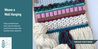 DIY Workshop at WeFF: Frame Loom Weaving with Paige Kent