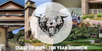 Paso Robles High School - Class of 2009 - Ten Year Reunion