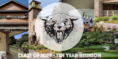 Paso Robles High School - Class of 2009 - Ten Year Reunion tickets