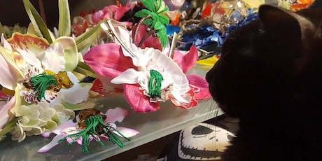 Tiki Kon: Make-n-Take Hair Flower Workshop with Liza Voodoo Doll tickets
