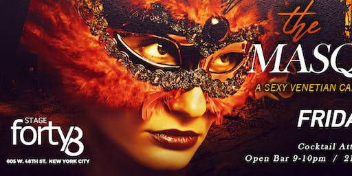The Halloween Masquerade Ball - A Sexy Venetian Carnival Affair @ Stage48