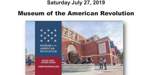 RWBC Museum of the American Revolution Bus Trip