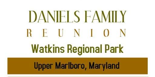 Daniels Family Reunion 2019