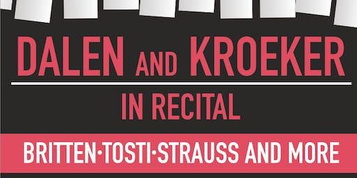Dalen and Kroeker in Recital