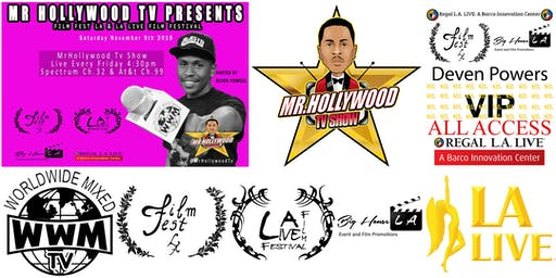Deven Powers Host FilmFestLA @ L.A. LIVE VIP Guest List.