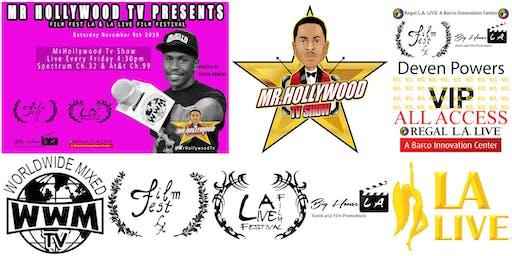 Deven Powers Host FilmFestLA @ L.A. LIVE VIP Guest List.