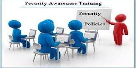 HMIS Security Awareness Training tickets