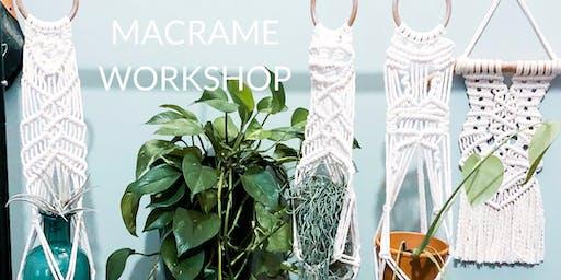 Macrame Plant Hanger Workshop No. 2
