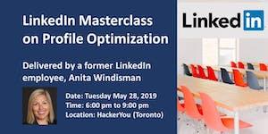LinkedIn Masterclass on Profile Optimization: How to...