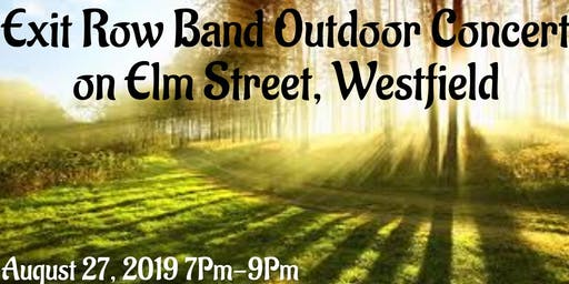 New Jersey's top professional private event band Live Outdoor!