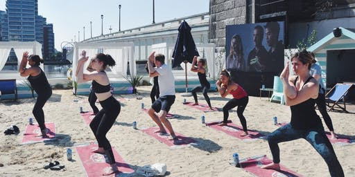 Yoga at Fulham Beach