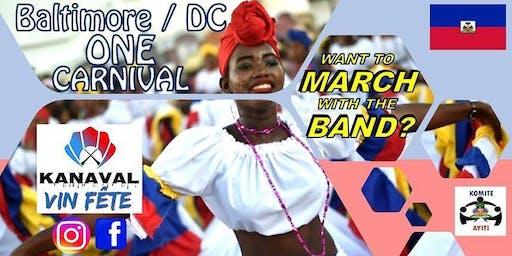 KANAVAL is coming!! Represent Haiti