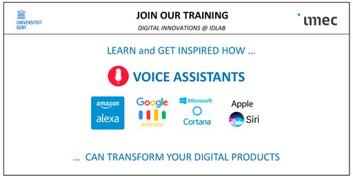 Training - Voice Assistants & Voice Processing