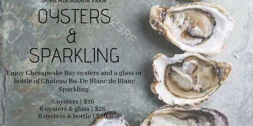 Oysters & Sparkling