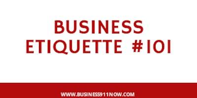 Business Etiquette #101