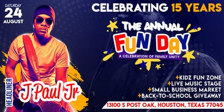 15th Annual Community Fun Day tickets