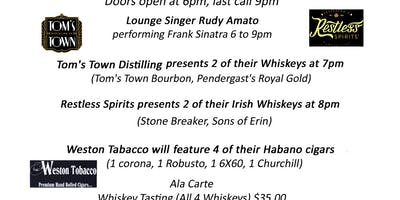 Whisky, Cigar & Prime Rib