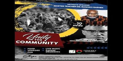 Unity in the Community  MALCOLM X Birthday Celebration