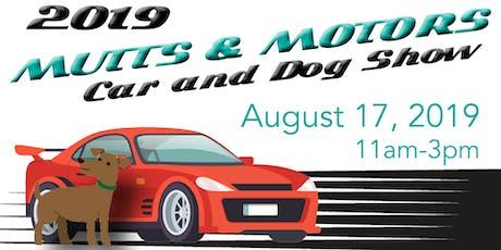 Mutts & Motors Show tickets