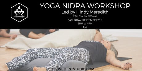 Yoga Nidra Workshop with Hindy Meredith tickets