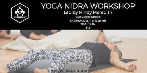 Yoga Nidra Workshop with Hindy Meredith