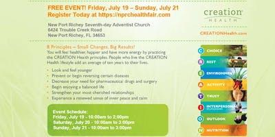 New Port Richey Community Health Fair