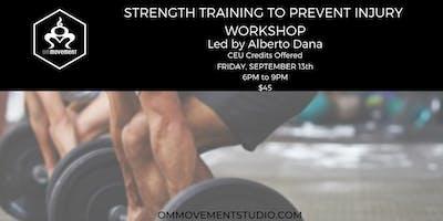 Strength Training to Prevent Injury