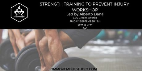 Strength Training to Prevent Injury tickets
