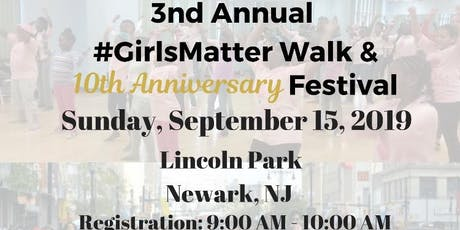 Girls; Live, Love, Laugh Incorporated Girls Matter Walk & Festival tickets
