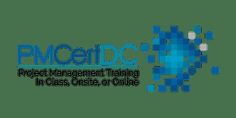 PMP Exam Prep Boot Camp - Oct. 21-24 - PMCertDC - Washington D.C. or Online tickets