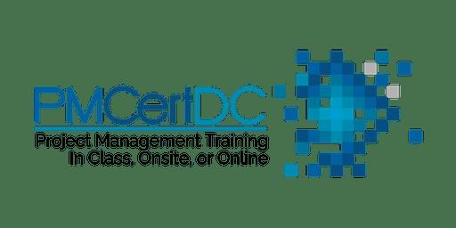 PMP Exam Prep Boot Camp - Oct. 21-24 - PMCertDC - Washington D.C. or Online